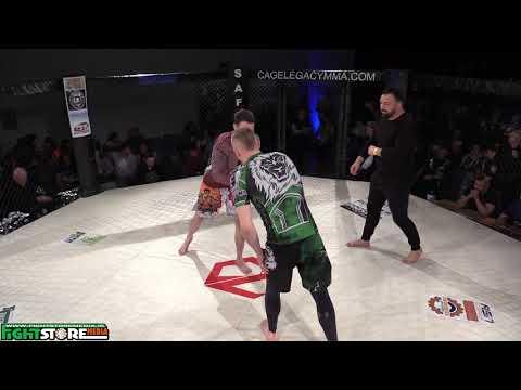 Carl Sherlock vs Jonathan Reid - Cage Legacy 7