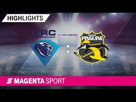 ERC Ingolstadt - Krefeld Pinguine | 3. Spieltag, 19/20 | MAGENTA SPORT