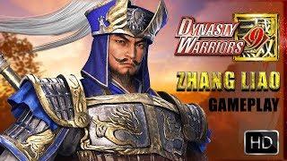 DYNASTY WARRIORS 9 Zhang Liao Gameplay Demo TGS 2017 || 真・三國無双 8 試遊版 実機デモプレイ