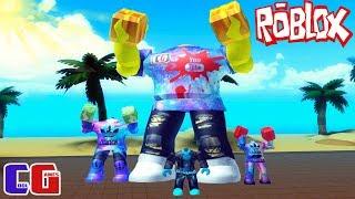 КАЧАЕМСЯ С ПОДПИСЧИКАМИ! БОКС СИМУЛЯТОР в Roblox #4 Битва мульт героев Роблокс Boxing Simulator