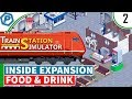 Train Station Simulator | Expanding and an Inside shop | #2