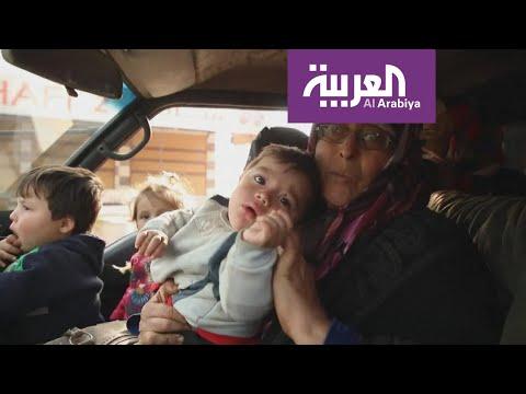 النزوح الجماعي من ريفي حلب وإدلب مستمر  - نشر قبل 4 ساعة