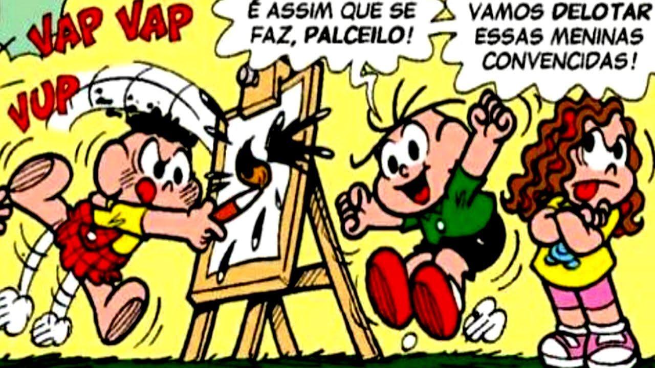 Download O Desafio de Arte - MENINOS VS MENINAS | Turma Da Mônica | Gibis Infalíveis