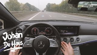 Mercedes CLS 350 d 4MATIC Coupé 286 hp POV test drive