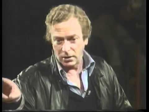 Michael Caine - Acting in film Workshop- part 1