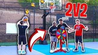 Download Old vs. Young 2v2 BASKETBALL CHALLENGE! ft. Troydan Mp3 and Videos