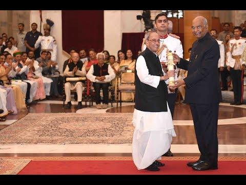 President Kovind Presents Bharat Ratna At Rashtrapati Bhavan