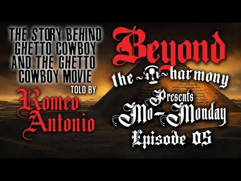 Romeo Antonio tells us the story behind Ghetto Cowboy & The Ghetto Cowboy Movie - Mo Monday E05