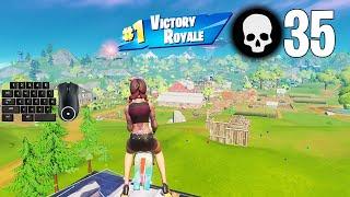 35 Elimination Solo Squad Win Season 7 Gameplay Full Game (Fortnite PC Keyboard)