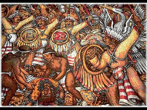 """the early history of the aztec empire Aztec, self name culhua-mexica, nahuatl-speaking people who in the 15th and early 16th centuries ruled a large empire in what is now central and southern mexico the aztecs are so called from aztlán (""""white land""""), an allusion to their origins, probably in northern mexico."""