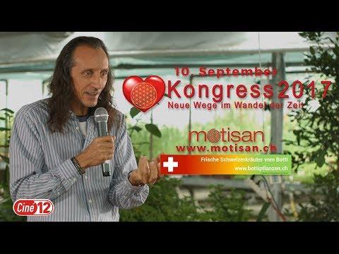 Authentisch sein -  Bruno Würtenberger / Kongress Neue Wege im Wandel der Zeit 10. September 2017