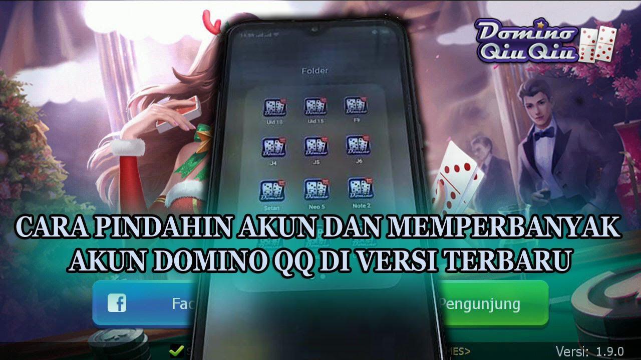 Cara Terbaru Pindahin Atau Ganti Akun Domino Qq Youtube