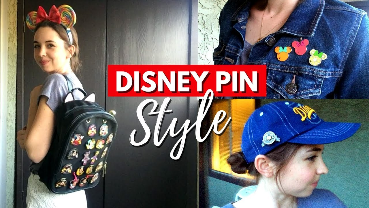 How to Style and Wear Disney Pins