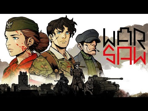 WARSAW Reveal Trailer | WWII Rpg Strategy Game Announcement