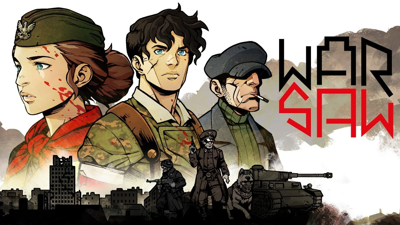 WARSAW Reveal Trailer | WWII rpg strategy game by Pixelated Milk