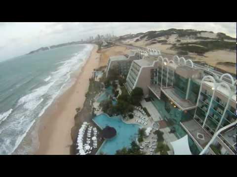Melque voando de paraglide em Natal RN
