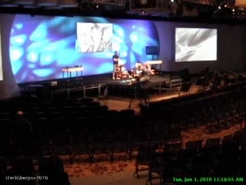 D8: Ballroom set up Part 2 All Things Digital 2010