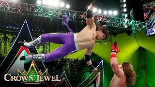 Humberto Carrillo takes to the sky against AJ Styles: WWE Crown Jewel 2019 (WWE Network Exclusive)
