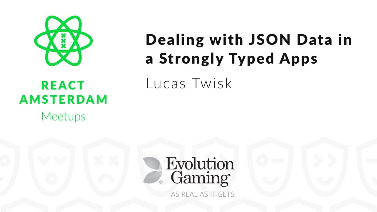 Dealing with JSON data in a strongly typed application – Lucas Twisk