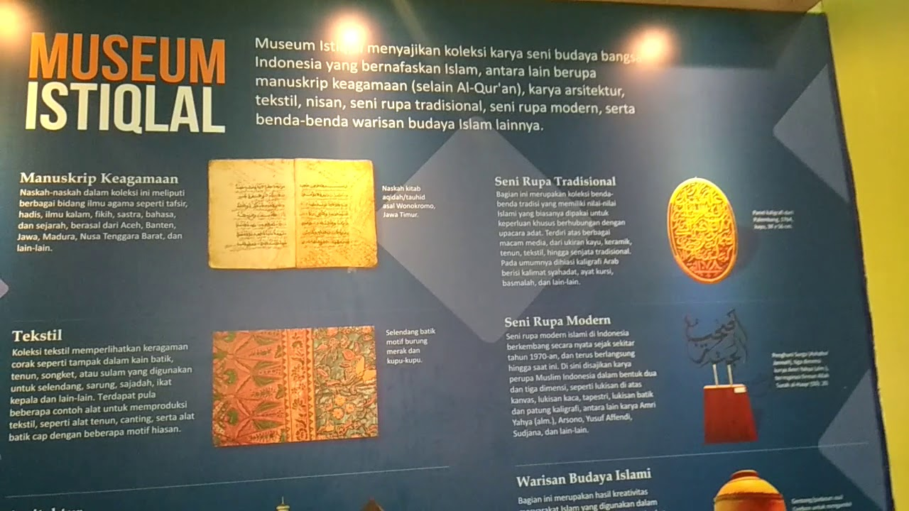 Bayt Al Qur An Dan Museum Istiqlal 2 Youtube