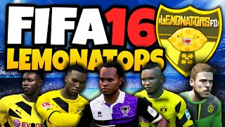fifa 16 ultimate team the lemonators fifa 16 gameplay