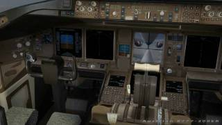 Austrian B777-200ER Flight - FS2004 [HD]