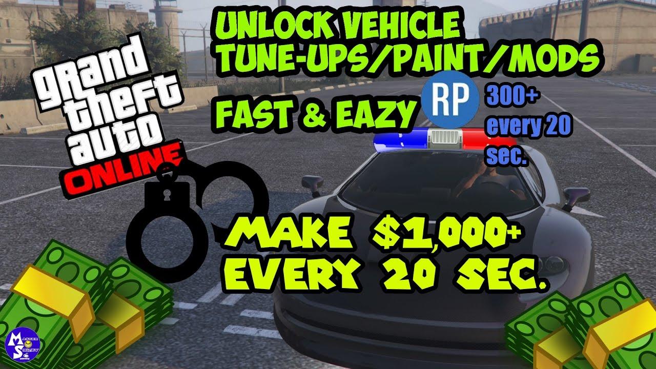 gta 5 online car mod unlocks