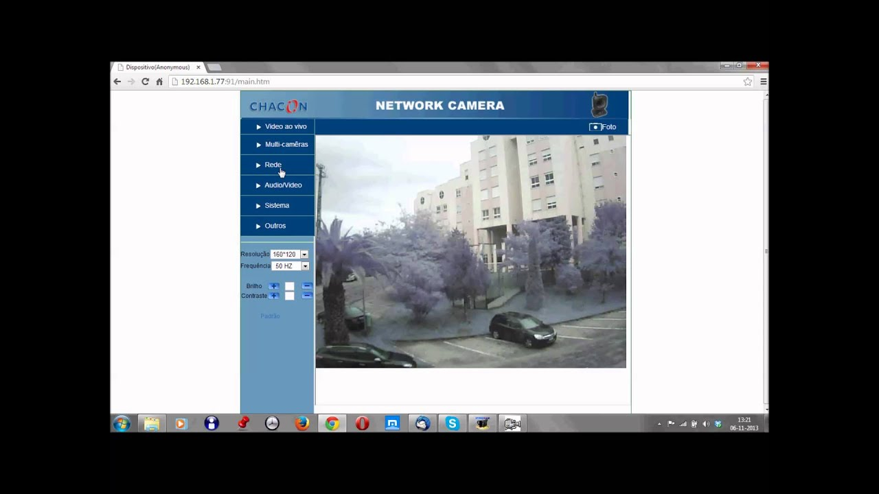 Camera IP Chacon 34535, 34536 e 34537
