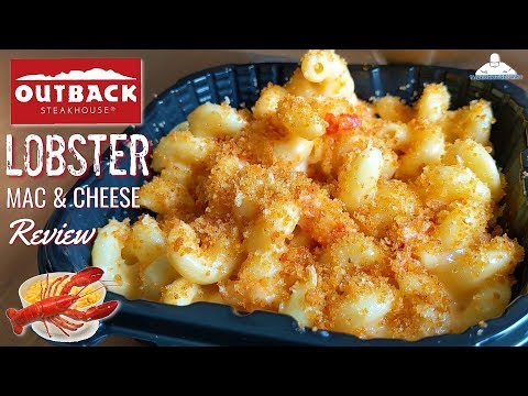 Outback Steakhouse® Lobster Mac & Cheese Review! 🦘 🥩🦞🧀