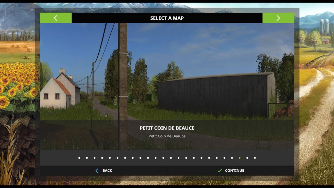 farming simulator 2017 map reviews petit coin de beauce v1 youtube. Black Bedroom Furniture Sets. Home Design Ideas
