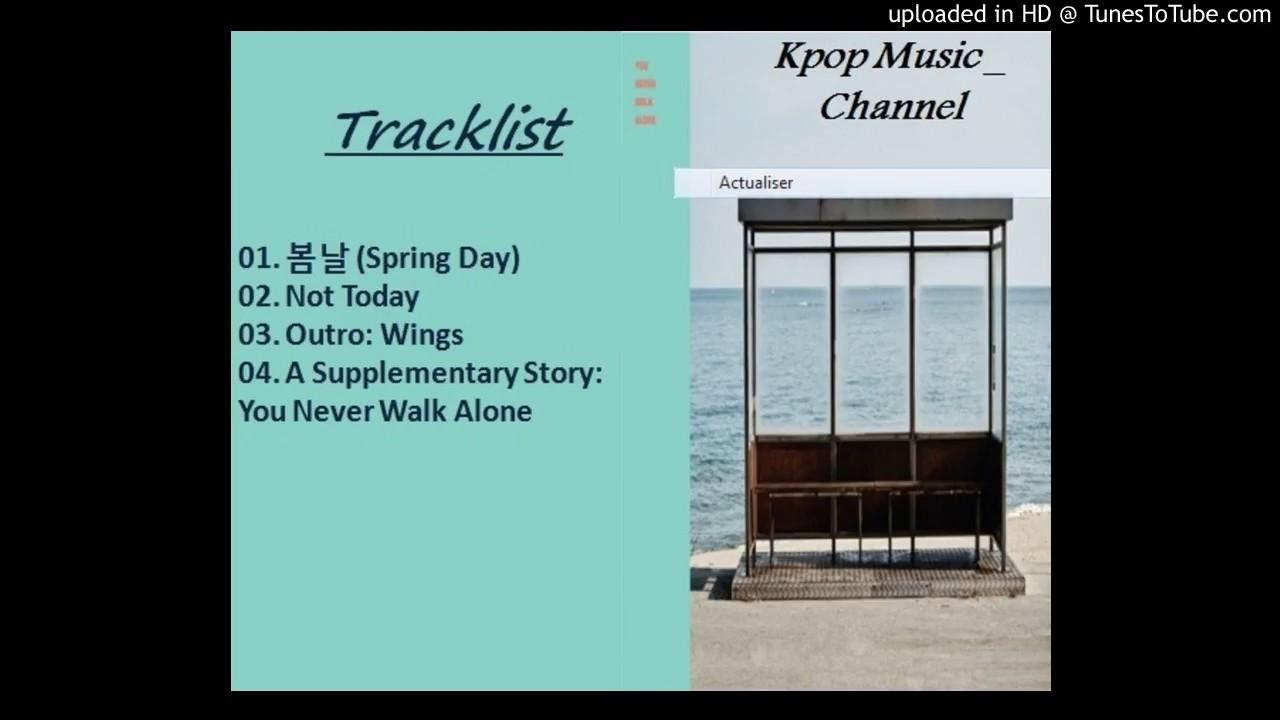 Download MP3 - Album 방탄소년단 BTS – You Never Walk Alone
