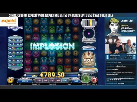 BIG WIN!!!! Reactoonz Big win - Casino - Bonus Round (Online Casino) - 동영상