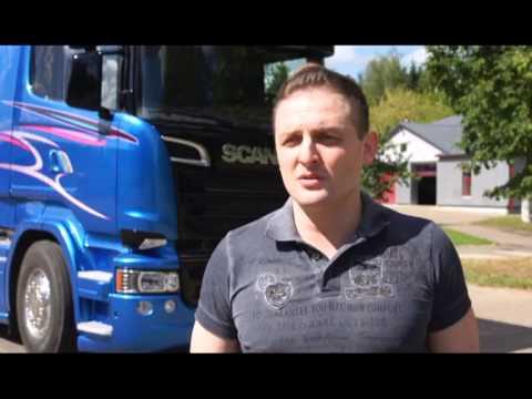 Укрощение Scania Blue Stream