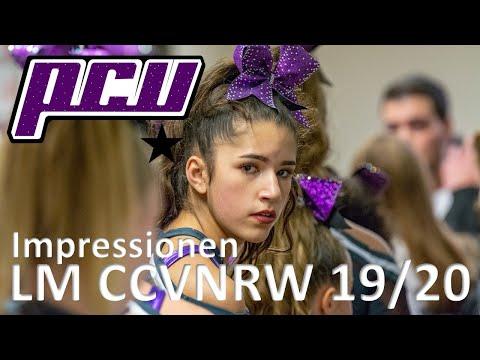 Impressionen von der Cheerleading Landesmeisterschaft CCVNRW 19/20