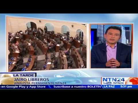"""No hay duda que asignación de curules a las FARC genera """"mucha suspicacia"""": Jairo Libreros a NTN24"""