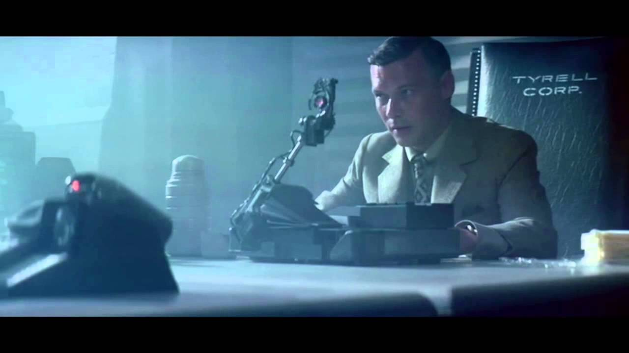 An image from Blade Runner with the Voight Kampff test, which is the Voight Kampff test in Blade Runner, a movie called Blade Runner that has a Voight Kampff test purple monkey football leather