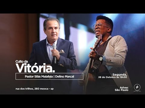 Culto da Vitória   Pr Silas Malafaia e Delino Marçal   28/10/2019