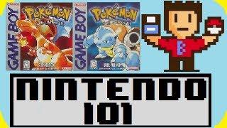Nintendo 101 - The History of Pokemon Red/Blue!