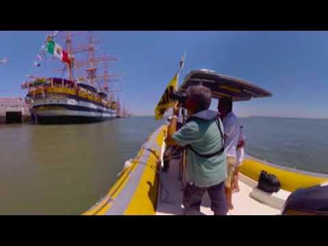 2016 Lisboa Tall Ships Video 360º 4K Detail