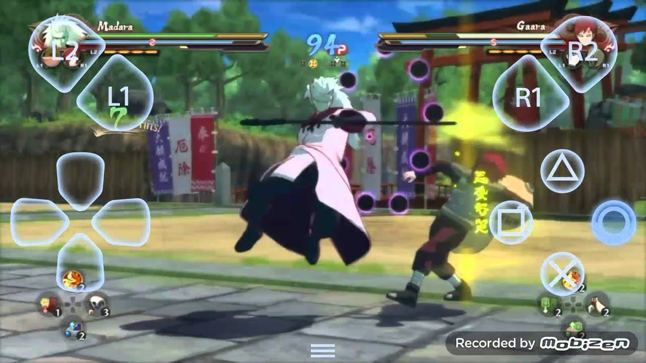 Naruto Shippuden Ultimate Ninja Storm 4 Gameplay Android ...