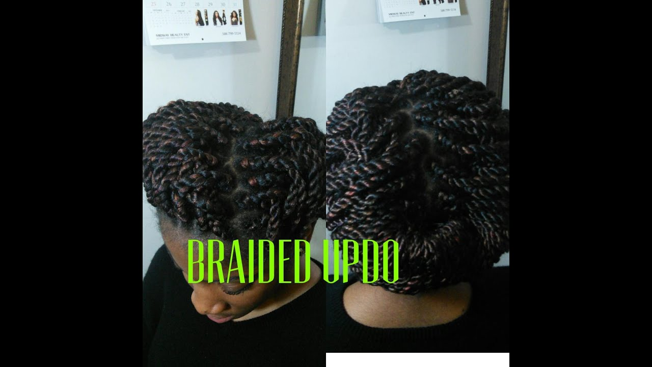 Braided updobraids hairstyles for black women youtube braided updobraids hairstyles for black women pmusecretfo Image collections
