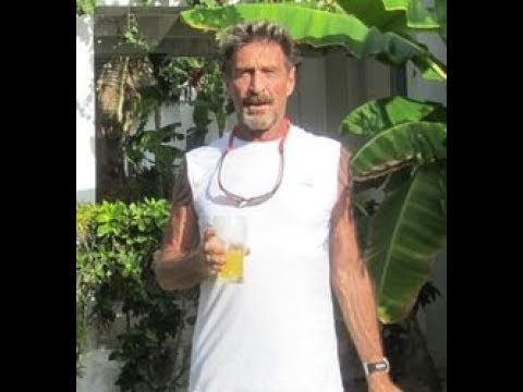 John McAfee Interview - BlockChain Technology & Simplifying CoinBase Wallet Security From Hackers