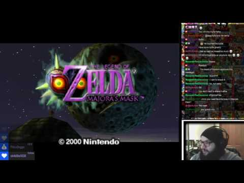 Twitch Livestream | The Legend of Zelda Majora's Mask Part 1 (PC)