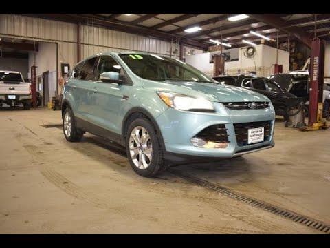 2013 Blue Ford Escape SEL 4x4 SLT4831A Motor Inn Auto Group