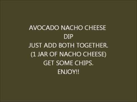 AVOCADO NACHO CHEESE DIP