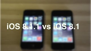 iOS 8.1.1 beta  vs iOS 8.1 on iPhone 4S, any signs of the promised improvements?