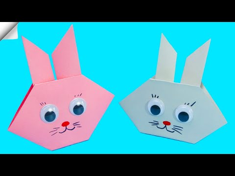 Easy Origami Rabbit | How to make paper rabbit | Paper craft toys