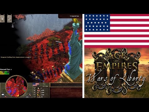 Wars Of Liberty Reveal With USA! Age Of Empires III