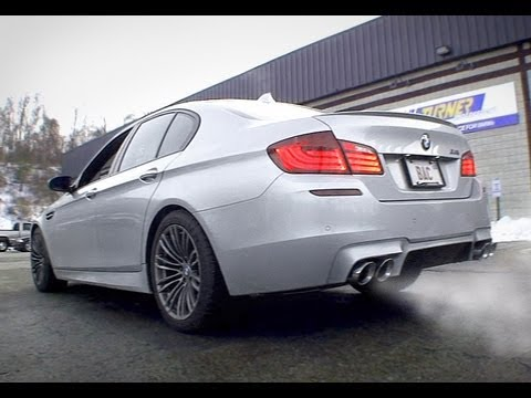 F10 BMW M5 Turner Race Inspired Axle-Back Exhaust