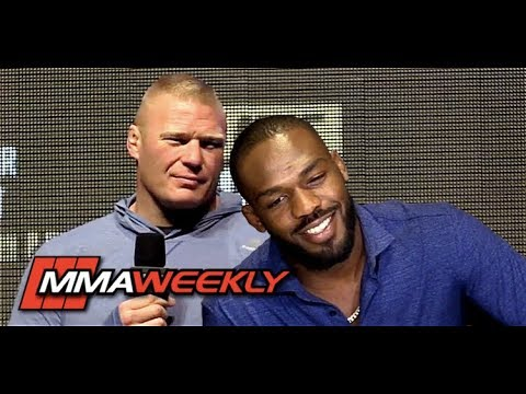 Jon Jones Breaks Down Brock Lesnar Callout